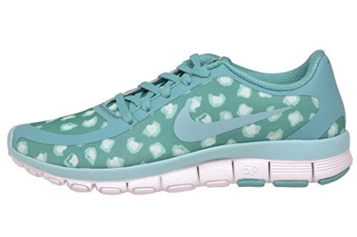 20bbc64620173 Galleon - Nike Free 5.0 V4 Ns Pt Sz 10.5 Womens Running Shoes Blue New In  Box