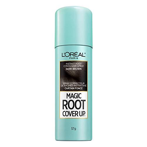 L'Oreal Paris Magic Root Cover Up Temporary Hair Colour Dark Brown, 57 g