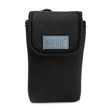 USA Gear Funda Universal Para Cámara Fotos Compacta - Compatible con Sony DSC Easypix Aquapix Sony DSC-RX100 Canon PowerShot Panasonic Lumix Andoer ...