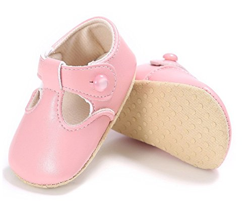 TongYouYuan Baby Girls Infant Toddlers First Walkers Newborn Soft Soled Cotton Bottom Princess Mary Jane Ballet Pink New Shoes (2, - Ferrari Price Hk