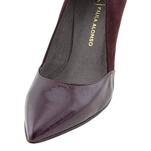 Chaussures Patricia Fin Suédé En Burdeos Miller Cuir 55zxBTPq