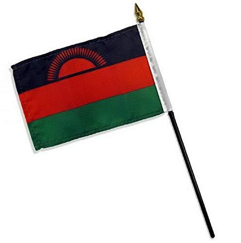 Kaputar 4x6 Malawi Stick Flag Table STF Desk Table | Model FLG - 7916 ()