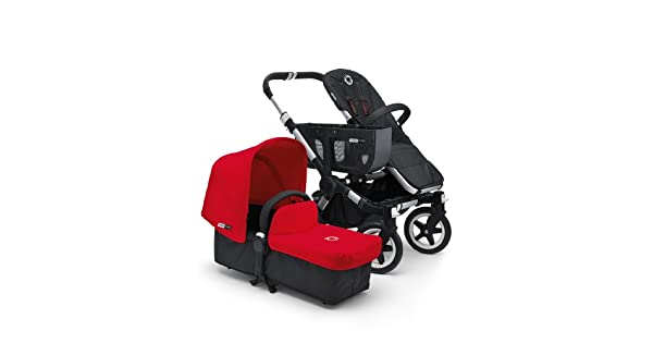 Amazon.com: Bugaboo Donkey Tailored tela set, Rojo: Baby