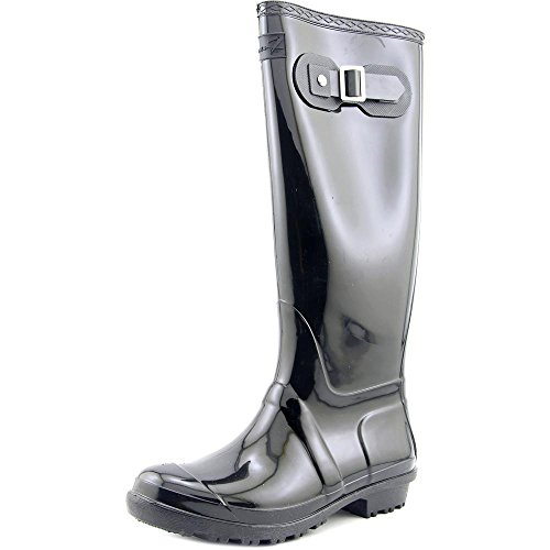 Seven7 Britische Mädchen Regen Schuh Schwarz