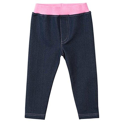 Vaqueros para Niñas Bebés Infante Jeans Pantalones largos para 3-4 Años