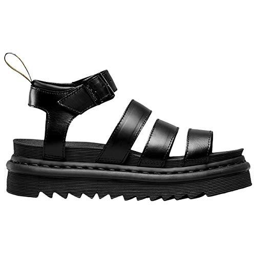 Dr.Martens Womens Blaire Leather Black Sandals 8.5 US
