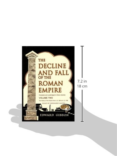 The Decline and Fall of the Roman Empire: Volume 2 by Blackstone Audio, Inc.