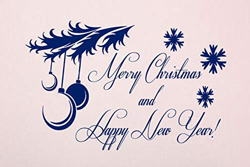 Happy New Year Merry Christmas 1 Rubber Stamps Business Logo Stamps Wedding Stamp Logo Stamp Invitation or Save The Date Rubber Cling Stamp Travel Stamp (Merry Christmas And Happy New Year Logo)