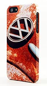 Punch Bug Rusted VW Beetle Hood & Emblem Dimensional Case Fits iPhone 4 or iPhone 4s