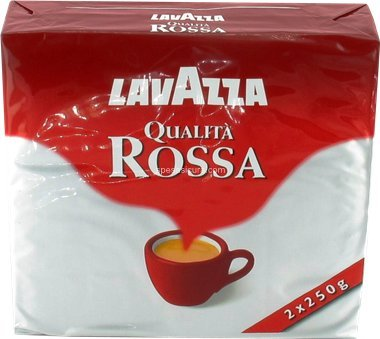 Lavazza: Qualita' Rossa 8.8-Ounce Brick (6-PACK) [ Italian Import ]