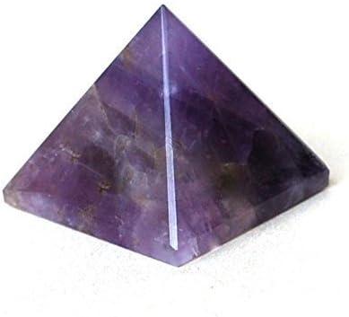 Healing Crystals P0689 - Piedra natural de la India con amatista, espiritual, cargada de energía (25-30 mm), color morado, 1 unidad