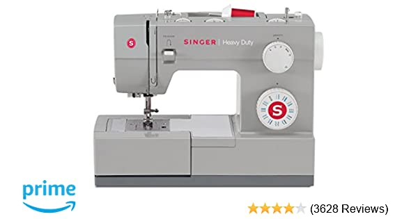 SINGER   Heavy Duty 4423 Sewing Machine with 23 Built-In Stitches -12 Decorative Stitches, 60% Stronger Motor & Automatic Needle Threader, Perfect for ...