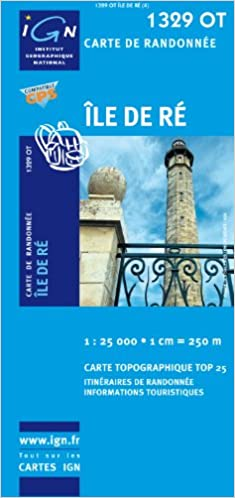 Ile De Re French Edition Institut Geographique National