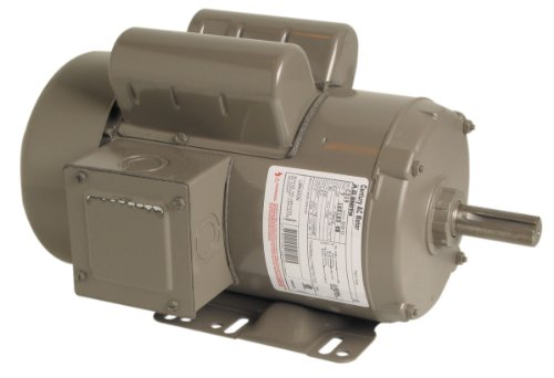 A.O. Smith C319 2 HP, 1800 RPM, 1 Speed, 230 Volts, 9.0/4.5 Amps, 1.15 Service Factor, 56HZ Frame, Manual Protector, TEFC Enclosure Farm Duty Motor