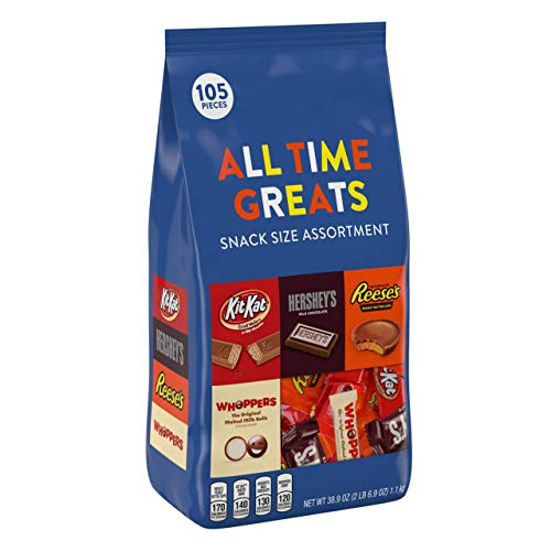Halloween Discount Store (HERSHEY'S Alll Time Greats Chocolates for Holidays Variety Assortment, 2)