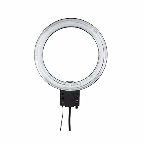 EACHSHOT 19''Outer 14''Inner 220V 65W 5400K Continuous Fluorescent Studio Video Macro Ring Light by EACHSHOT