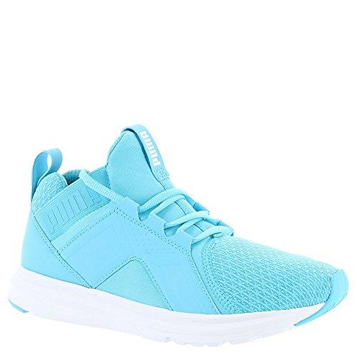 Enzo Suede Sneakers - PUMA Women's Enzo Wn's Sneaker, Blue Atoll, 9 M US