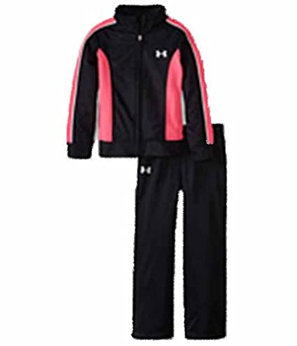 new products 689c4 76d94 Under Armour Track Suit Girls (2T, Black)