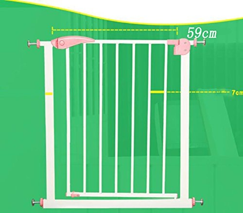 Gate Door Walk Thru Pet Fence Extra Wide 26