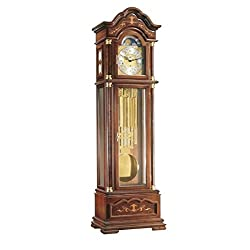 Hermle 01131031171 Biltmore Grandfather Clock with Tubular Chimes - Walnut