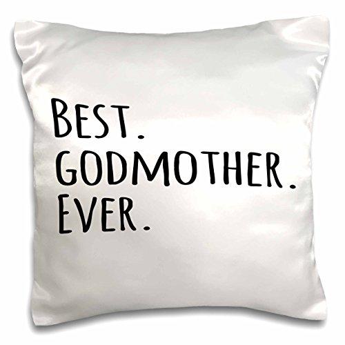 3dRose pc_151526_1 Best Godmother Ever Gifts For God Moth...