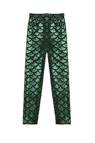 Arshiner Glittery Length Mermaid Leggings product image