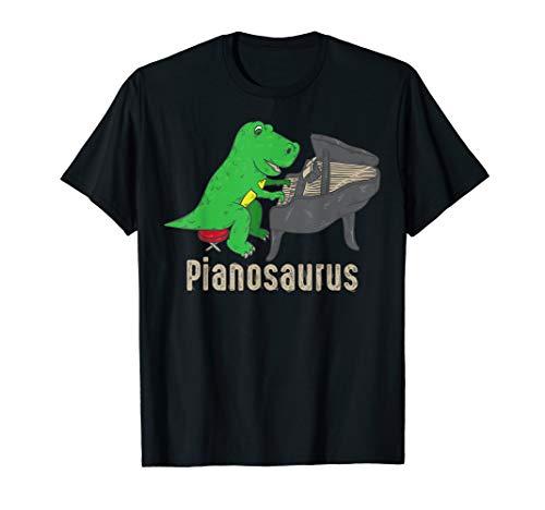 - Pianosaurus Piano Shirt Dinosaur Percussion Music Funny Gift