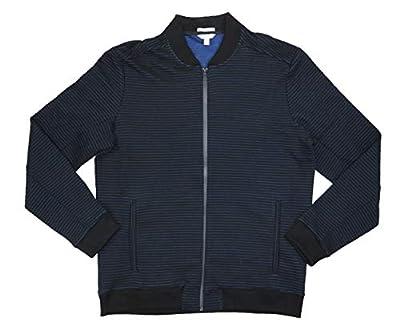 Calvin Klein Ribbed Full Zip Men's Bomber Jacket