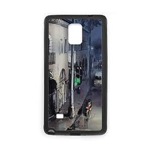 Samsung Galaxy Note 4 Cell Phone Case Black Tron Flynns Arcade Tzkzt