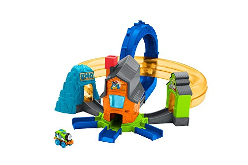 Fisher-Price Thomas & Friends MINIS, Boost 'n Blast Stunt Set (List Of All Thomas Take N Play Trains)
