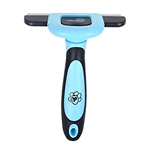 Chirpy Pets Dog & Cat Brush for Shedding, Best Long & Short Hair Pet Grooming Tool, Reduces Dogs and Cats Shedding Hair by More Than 90%, The Deshedding Tool 56