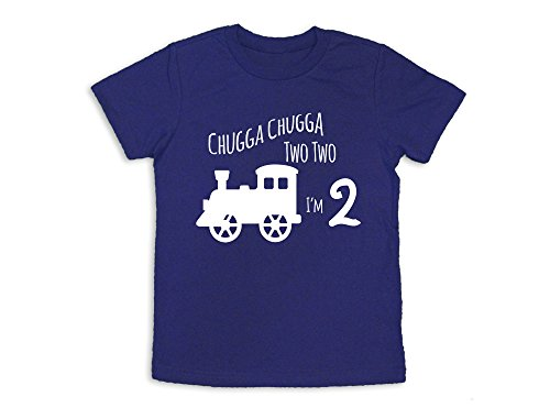 Apparel Train (Oliver and Olivia Apparel 2nd Birthday Shirt Train 2nd Birthday Shirt Two Years Old (2 Toddler))