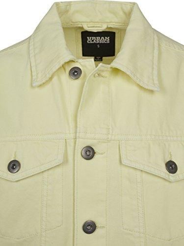 para Jacket Classics Hombre Oversize 01323 Yellow Urban Chaqueta Garment Amarillo Dye Powder Vaquera SdC0xn0f