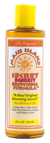 Maui Island Secret Darkest Browning formula