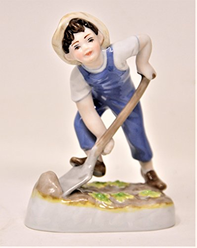 Royal Worcester Days of the Week Saturday Boy Works Hard For a Living Figurine (Figurines Royal Worcester)