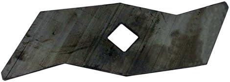 Cuchillo de escarificador para AL-KO modelos Welle, elv1300, topgarden 4000E–L: 156mm, diámetro: 14,3mm. sustituye a origen: 510825
