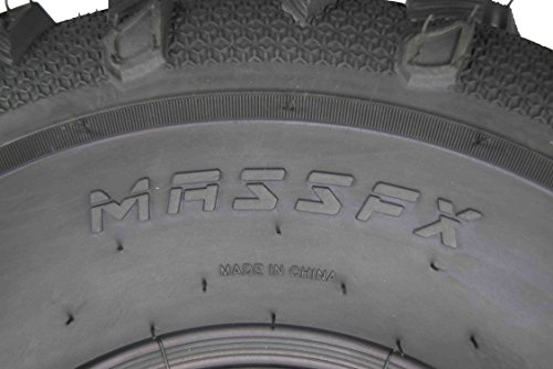 MASSFX Grinder Series ATV Dual Compound Tread Honda Recon All Years (Four Pack Two Front 22x7-11 Two Rear 22x10-9) Mud Sand Snow and Rock Tires by MASSFX (Image #5)