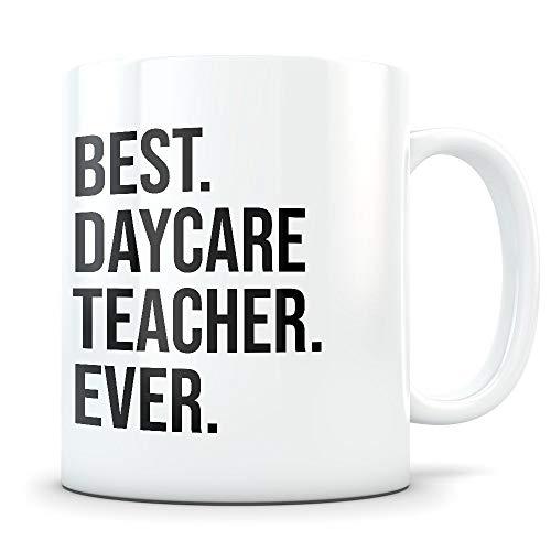 Daycare Teacher gifts, daycare teacher mug, daycare gift idea, daycare mug, daycare cup, gifts for daycare, daycare teaching