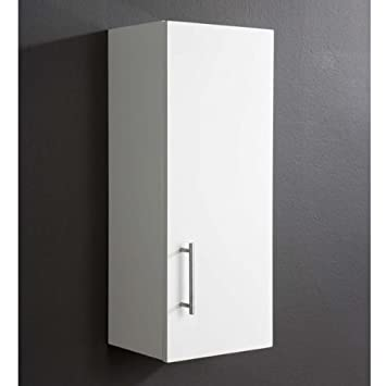 Arctic High Gloss White Bathroom Wall Cabinet: Amazon.co.uk ...