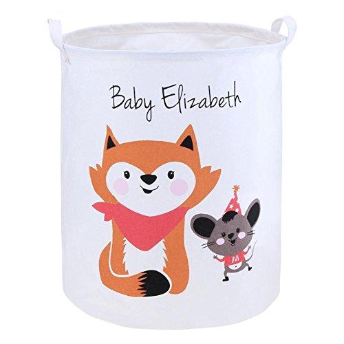 Trendyest Portable Foldable Clothes Storage Bag Kids Toys Holder Container Basket 400 Mm Basket