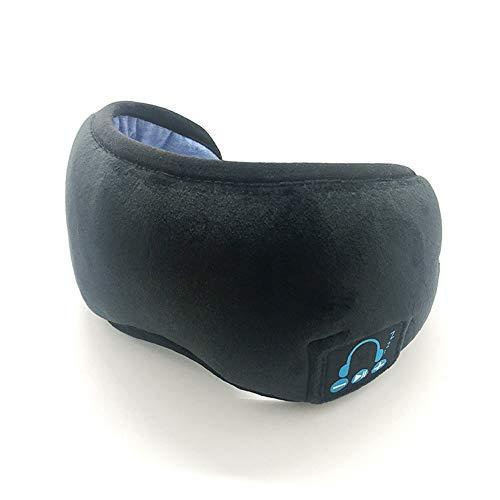 Nueva Bluetooth 5.0 Gafas Inteligentes del sueño, Gafas de música inalámbricos, Gafas de Siesta Ajustables, Terciopelo…