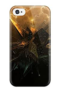 Hot FXZOEHG4217mvPqA Case Cover Protector For Iphone 4/4s- Cgi Sci Fi