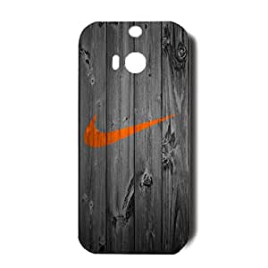 Just Do It Nike Design Cover Case Classical Vintage 3D Nike Logo Phone Case for Htc One M8