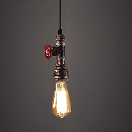 hahae de Tubo lámpara Mall techo lámpara Retro Vintage techo kNn0OXZwP8