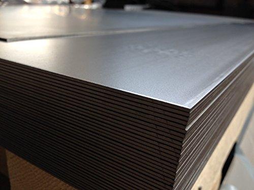 Alu-Stahl-Blech Stahlog Feuille de métal 1 x 500 x 1000 mm