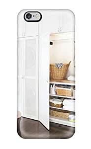 Hot Design Premium WrVDHjK11710HjYtu Tpu Case Cover Iphone 6 Plus Protection Case(modern White Laundry Closet)