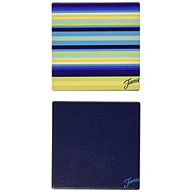 Thirstystone Occasions Stoneware Drink Coasters, Fiesta Cool Stripe Trivet