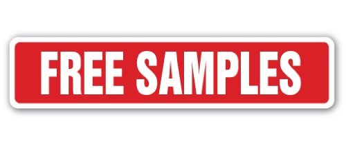 amazon com free samples street sign giveaways sampler consumer