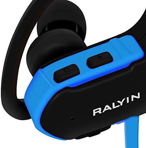 MP3 Headphones Built in 8GB TF Card Memory StorageRalyin Bluetooth Earbuds with Microphone Wireless