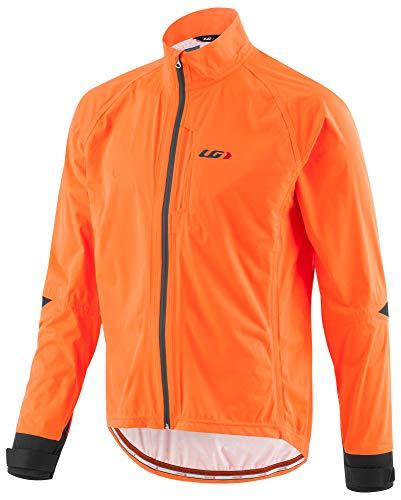 Louis Garneau Men's Commit WP Bike Jacket, Orange Fluorescent, X-Large